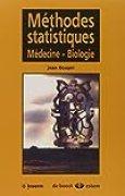 Méthodes statistiques : médecine-biologie