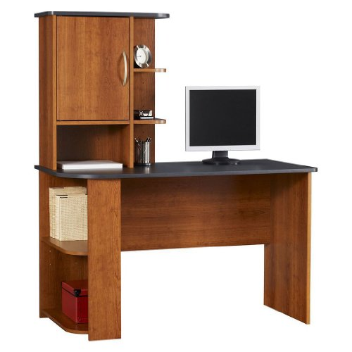 Picture of Comfortable Computer Desk by Ameriwood Furniture (B00592IC86) (Computer Desks)