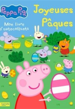 Livres Couvertures de Peppa Pig - Joyeuses Pâques