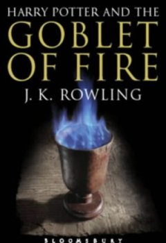 Buchdeckel von Harry Potter and the Goblet of Fire (Book 4): Adult Edition by J. K. Rowling (10-Jul-2004) Paperback