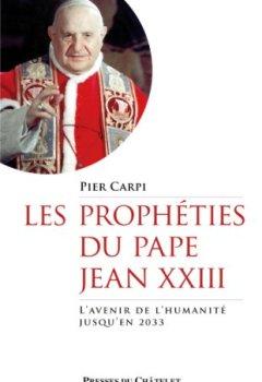 Livres Couvertures de Les prophéties du pape Jean XXIII
