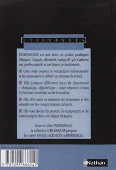 Livres Couvertures de Anglais, vocabulaire et expressions : hôtellerie