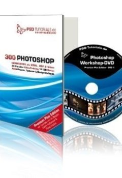 Abdeckungen PSD-Tutorials.de - Photoshop-Workshop-DVD Premium Plus Edition - Video-Training: Das Meisterstück in Sachen Tutorials