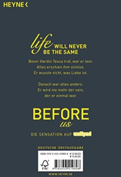 Buchdeckel von Before us: Roman (After, Band 5)