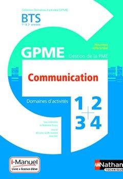 Livres Couvertures de Domaine d'activité 1, 2, 3 et 4 - Communication