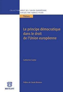 Livres Couvertures de Le principe démocratique dans le droit de l'Union Européenne