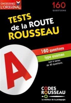 Livres Couvertures de Test Rousseau de la route B 2019