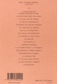 Livres Couvertures de Carnets du grand chemin