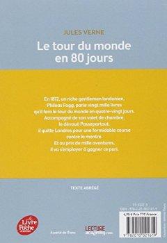 Livres Couvertures de Le tour du monde en 80 jours - Texte Abrégé