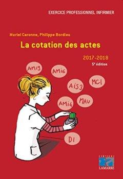 Livres Couvertures de La cotation des actes - 2017-2019 (5e édition )