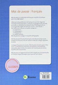 Livres Couvertures de Mot de passe français