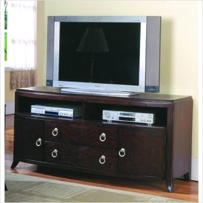 Image of 958 Series TV Stand in Cherry (958C-13)