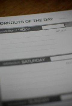 Livres Couvertures de B [] X Cross Fit Gym A5Carnet de journal d'entraînement