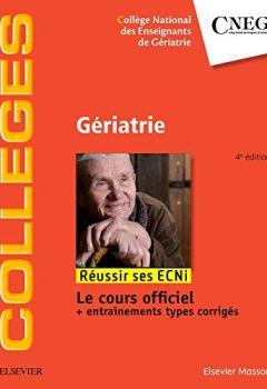 Livres Couvertures de Gériatrie: Réussir les ECNi