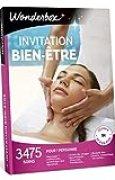 Wonderbox - Coffret cadeau femme - INVITATION AU BIEN ETRE – 3475 massages, gommages, spa, hammam