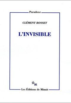 Livres Couvertures de L'Invisible - prix Procope des Lumières 2013