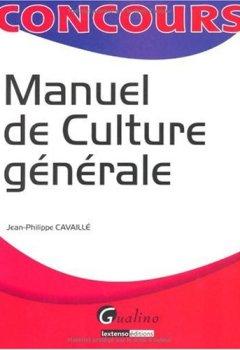 Livres Couvertures de Manuel de culture générale