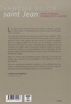 Livres Couvertures de Évangile selon saint Jean: texte intégral commenté et illustré