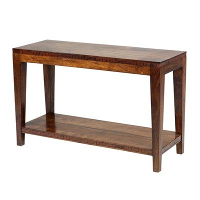 Image of William Sheppee Saddler Console Table in Rich Walnut SAD030 (SAD030)