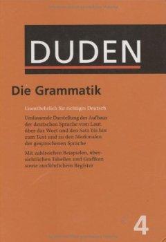 Buchdeckel von Der Duden in 12 Bänden - Das Standardwerk zur deutschen Sprache: Band 4. Grammatik der deutschen Gegenwartssprache.