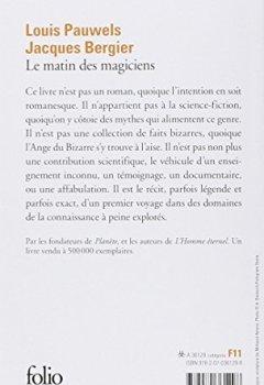 Livres Couvertures de Le Matin des magiciens: Introduction au réalisme fantastique