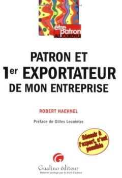 Livres Couvertures de Patron et 1er exportateur de mon entreprise
