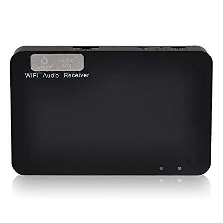 Music lovers' favorate! Adopt top DAC audio decoding chip, take you into a Wifi Internet music era, listen to the sounds of nature. Sole dedicated IP: 10.10.1.1, once set, save forever. Can play music when phone call comes. Several devices control...