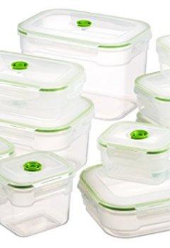 Livres Couvertures de Vacuumsaver FLS10 Flavia Lot de 10boîtes de mise sous vide de taille différente + pompe