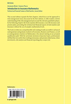 Livres Couvertures de Introduction to Insurance Mathematics : Technical and Financial Features of Risk Transfers