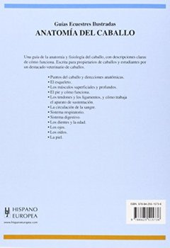 Livres Couvertures de Anatomia del caballo/ Functional Anotomy
