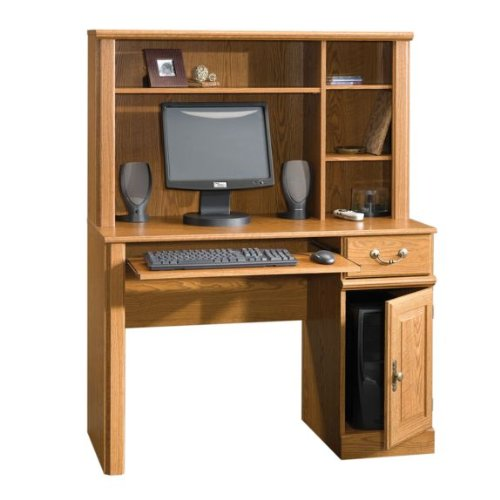 Picture of Comfortable Orchard Hills Computer Desk and Hutch (B003TLFMLO) (Computer Desks)
