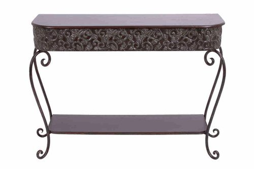Image of Benzara 69138 Metal Console Table (B005ZHWZYM)