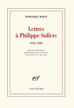 Livres Couvertures de Lettres à Philippe Sollers: (1958-1980)