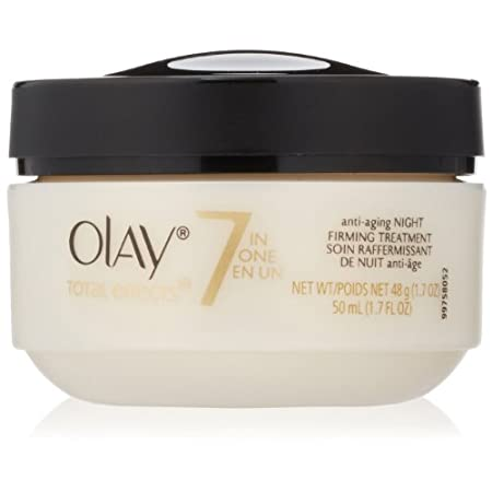 Don't just dream about younger-looking skin. Do something about it with Olay Total Effects Night Firming Treatment, and fight 7 signs of aging while you sleep. Simply massage it onto your face and neck after cleansing  and go to bed. This proven, vit...