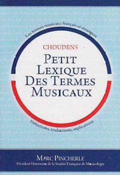 Livres Couvertures de Marc pincherle: petit lexique des termes musicaux livre sur la musique