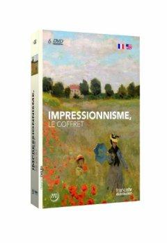 Livres Couvertures de COFFRET IMPRESSIONNISTES (Claude Monet à Giverny, Les Nympheas, Le Vernis Craque, Renoir au délà de l'impressionnisme, Degas et le nu, Manet une inquiétante étrangeté)