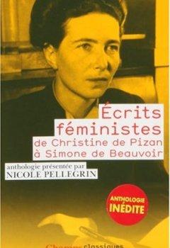 Livres Couvertures de Ecrits féministes : De Christine de Pizan à Simone de Beauvoir