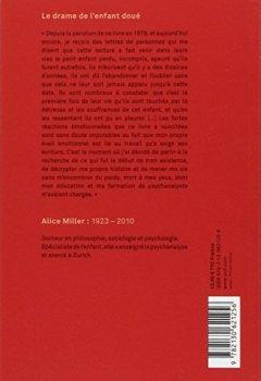 Livres Couvertures de Le drame de l'enfant doué : A la recherche du vrai Soi