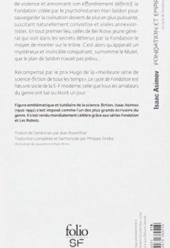 Livres Couvertures de Le cycle de Fondation, II:Fondation et Empire