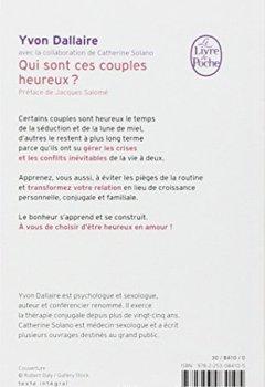 Livres Couvertures de Qui sont ces couples heureux ? : Surmonter les crises et les conflits du couple