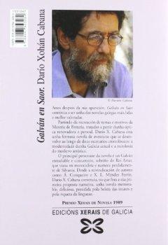 Portada del libro deGalván en Saor (Edición Literaria - Narrativa)