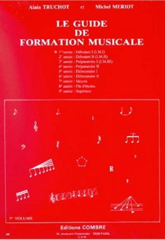 Livres Couvertures de Guide de formation musicale. 1ère année - Débutant 1 (I.M.I)
