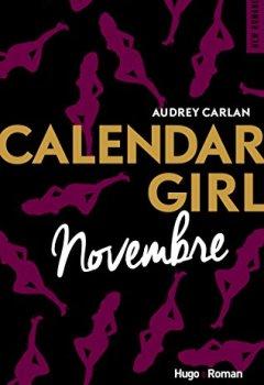 Livres Couvertures de Calendar Girl - Novembre