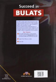 Livres Couvertures de Succeed in BULATS : 5 Pratice Tests - Student's Book (1CD audio MP3)