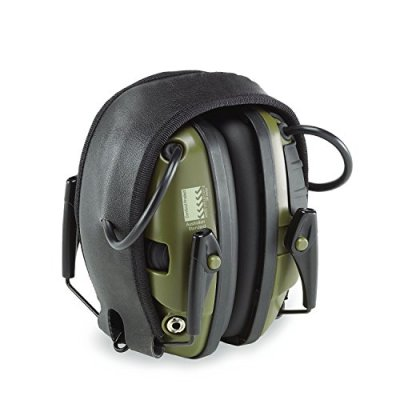 Foldable-Noise-Canceling-Ear-Muffs-Sport-Sound-Amplification-Electronic-Earmuff-Classic-Green