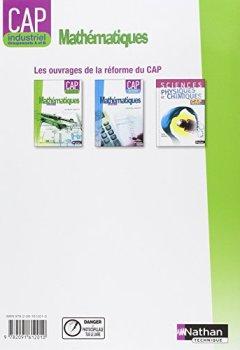 Livres Couvertures de Mathématiques - CAP industriel Groupement A et B