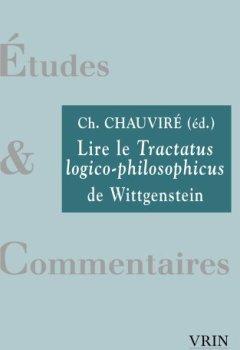 Livres Couvertures de Lire le Tractatus Logico-Philosophicus de Wittgenstein