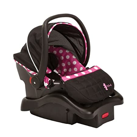 Disney Baby Minnie Mouse Minnie Dot Light 'n Comfy Luxe Infant Car Seat Give your baby a cozy ride with Minnie Mouse in the Disney Baby Minnie Mouse Light 'n Comfy Luxe Infant Car Seat! This infant car seat keeps your little character comfortable u...