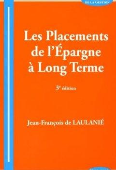 Livres Couvertures de Les Placements de l'Epargne a Long Terme