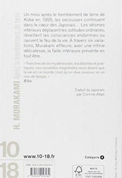 Livres Couvertures de APRES LE TREMBLEMENT DE TERRE